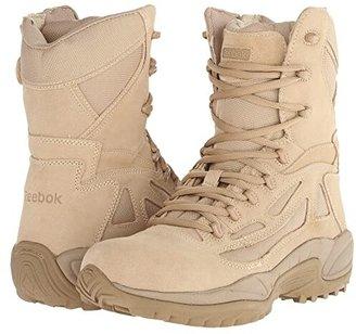 Reebok Work Rapid Response 8 (Desert Tan) Men's Work Boots