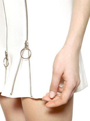 Moschino Cheap & Chic Flare Zipped Jersey Dress