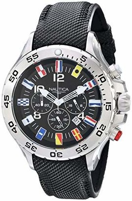 Nautica Men's N16553G Stainless Steel Watch with Band