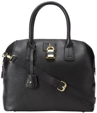 London Fog Lawrence Satchel Top Handle Bag