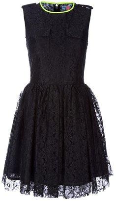 MSGM lace detail dress