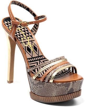 Jessica Simpson Skye High-Heel Platform Sandals