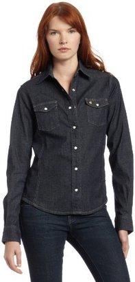 Carhartt Women's Denim Snap Front Shirt