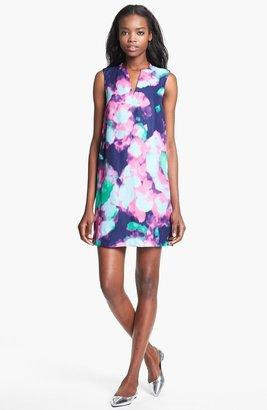 Kate Spade 'keri' Abstract Floral Print Dress