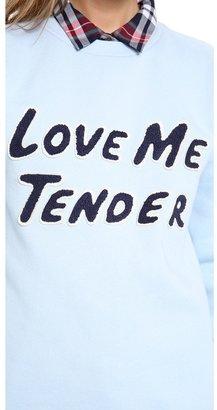 Opening Ceremony Love Me Tender Sweatshirt
