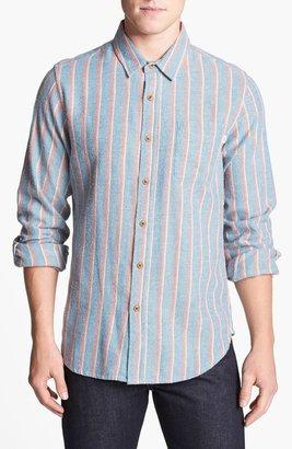 Obey 'Monterey' Stripe Flannel Shirt