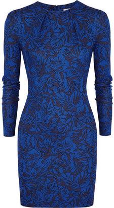 Matthew Williamson Printed stretch-jersey mini dress