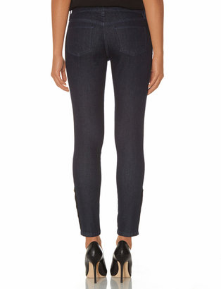 The Limited 312 Buttoned Skinny Ankle Jeans