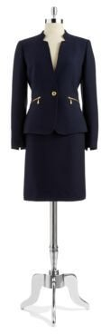 Tahari ARTHUR S. LEVINE Two Piece Pencil Skirt Suit