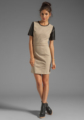 Marc by Marc Jacobs Dempsey Drill Short Sleeve Dress