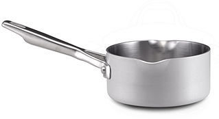 Anolon Saucepan, Chef Clad 1 Qt. Open