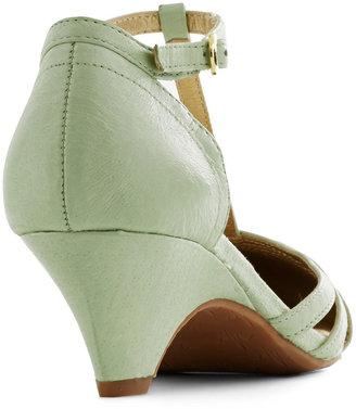 BC Footwear Just Prance Heel in Honeydew