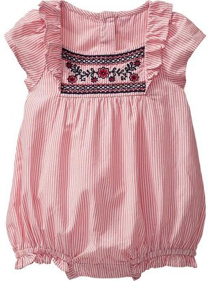 Old Navy Striped Bubble One-Pieces for Baby