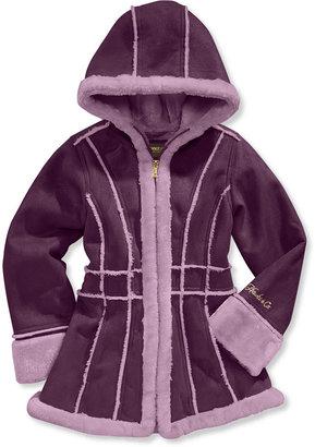 Hawke & Co Kids Coat, Girls Faux-Shearling Jacket