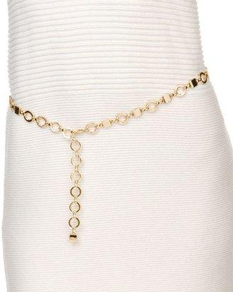 Fossil dillard's exclusive chain belt