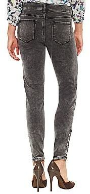 JCPenney a.n.a® Ankle-Zip Skinny Jeans - Tall