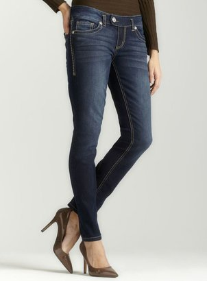 7 For All Mankind Seven7 Timeless Jegging W Gold S Pkt
