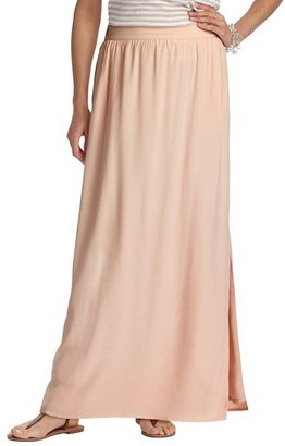 LOFT Tall Textured Maxi Skirt