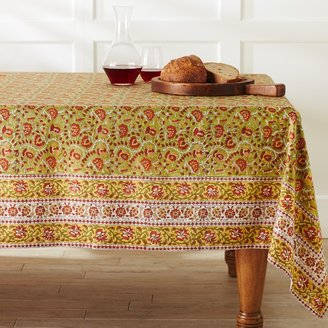 Williams-Sonoma Ornate Tile Print Tablecloth