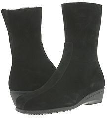 La Canadienne Elena (Black Suede) - Footwear