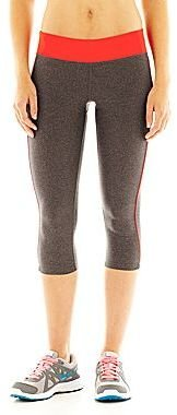 JCPenney XersionTM Fitted Piped Capris