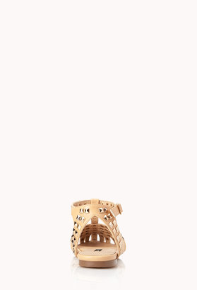 Forever 21 Total Stud Pointed Sandals