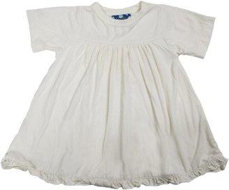 Green Baby KicKee Pants Dress - Natural-Newborn