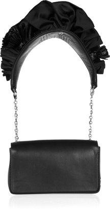 Christian Louboutin Artemis ruffled leather shoulder bag