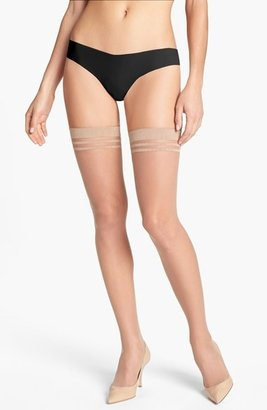 Pretty Polly Alice + Olivia by 10 Denier Run Resistant Thigh High Stockings
