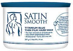 Satin Smooth Prof. Titanium Blue Thin Film Hard Wax 14 Oz.