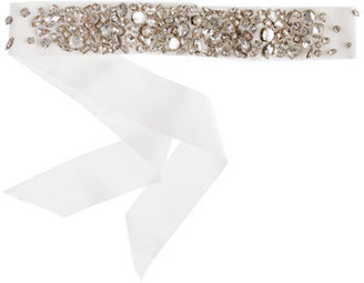 J.Crew Collection rhinestone-encrusted sash