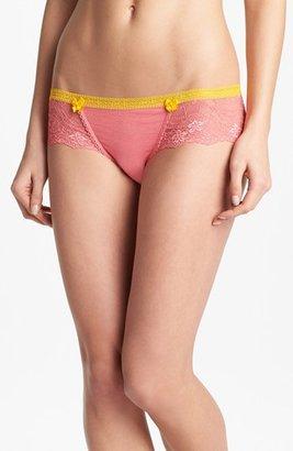Honeydew Intimates Lace & Mesh Hipster Panties