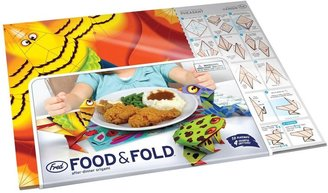 Fred & Friends Food & Fold: Origami Placemats