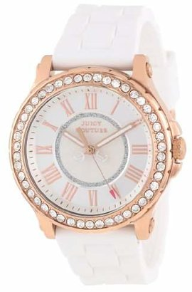 "Juicy Couture Women's 1901052 ""Pedigree"" Crystal-Accented Rose Gold Watch $195 thestylecure.com"