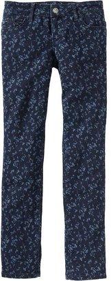 Old Navy Girls Floral-Print Skinny Jeans