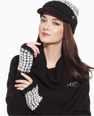 MICHAEL Michael Kors Hat, Icelandic Knit Newsboy Hat