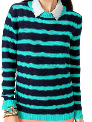 Forever 21 Chunky Striped Sweater