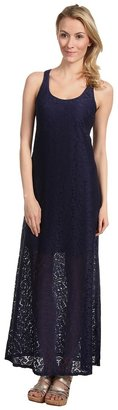 Tommy Bahama Lace Ahoy Lace Long Tank Maxi Dress (Mare) - Apparel