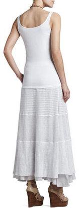 Eileen Fisher Linen Lace Long Skirt