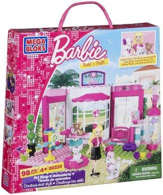 Mega Bloks Barbie Build 'n Style PetShop
