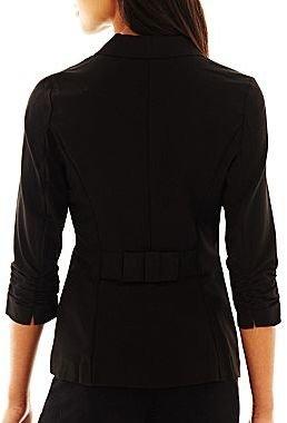 Stoosh Bow-Back Blazer
