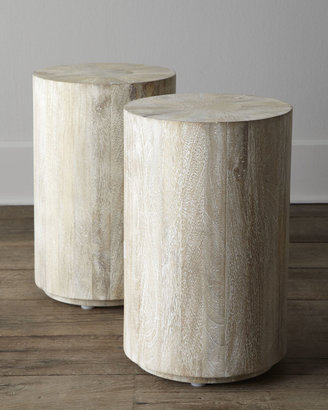 "Horchow ""Driftwood"" Side Table"
