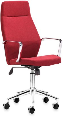 Bed Bath & Beyond Zuo® Modern Holt High Back Office Chair in Red