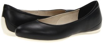Ecco Angel Ballerina (Black) - Footwear