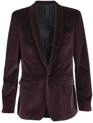 MSGM Velvet blazer