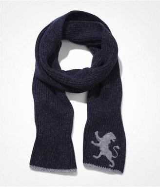 Express Large Lion Marled Knit Scarf