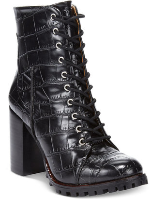 Report Signature Allon Lace-up Booties