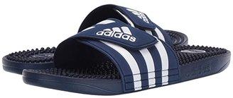 adidas adissage (Dark Blue/Footwear White/Dark Blue) Men's Slide Shoes