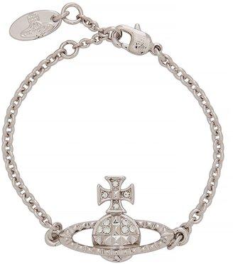 Vivienne Westwood Mayfair Bas Relief Silver-tone Bracelet