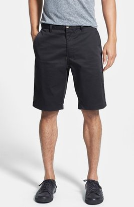 Men's Rvca Flat Front Twill Shorts $39.95 thestylecure.com